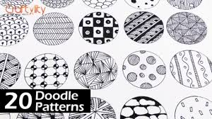 Zentangle Pattern Magnificent Doodle Patterns 48 Doodle Patterns Part 48 Zentangle Patterns