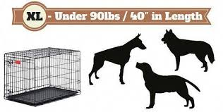 Dog Cage Size Chart Complete Guide On What Size Dog Crate You Should Get And