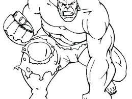 Hulk Coloring Pages Printable Artigianelliinfo