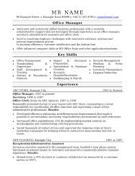 Sample Office Manager Resume Beautiful Fice Manager Resume Samples ...