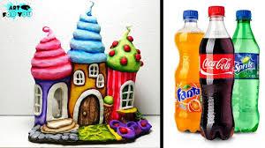 diy fairy house lamp using plastic bottles how to make fairy house diy