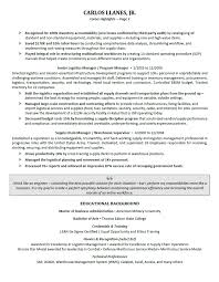 Resume Outlines Examples Executive Resume Samples Professional Resume Samples