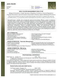 executive resume templates inssite