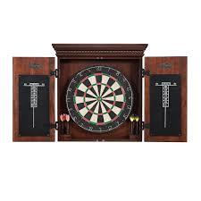 Dart Board Cabinet With Chalkboard American Heritage Cavalier Dart Board Cabinet Set Reviews Wayfair