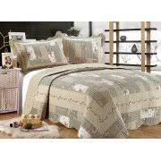 Beige Quilts & Bedspreads - Walmart.com & All for You 3pc Reversible Quilt Set, Bedspread, and Coverlet with  Patchwork Prints- Adamdwight.com