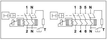 new model iec 61008 1 5sm3 type 4 pole rccb elcb 25a earth leakage wiring diagram new model iec 61008 1 5sm3 type 4 pole rccb elcb 25a earth leakage circuit