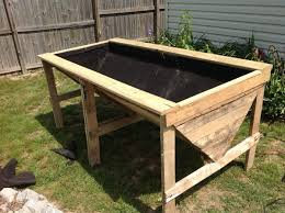 how to build a raised garden bed with legs. 15 Awesome Raised Garden Bed With Legs Plans Images How To Build A