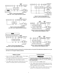 how wire a white rodgers room thermostat thermostat beauteous Three Wire Thermostat Diagram thermostat beauteous wiring heating system cooling caution in white rodgers wiring dometic three wire thermostat wiring diagram
