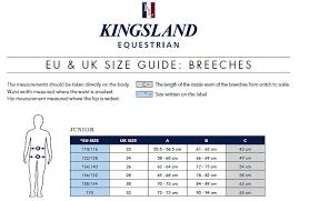 Kingsland Ken E Tec Knee Grip Breeches Junior Boys