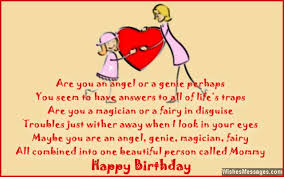 Birthday Poems For Mom Wishesmessages Com