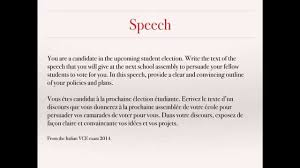 writing a speech persuasive writing french vce text types writing a speech persuasive writing french vce text types