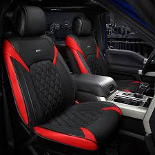 riu sc bkred fza 1st forza series 1st row details universal forza series 1st row black seat covers with red