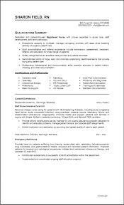 critical care nurse resume example resume writter charge sample care nurse resume
