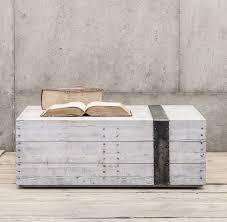 whitewash wood furniture.  Whitewash Scaffolding White Washed Reclaimed Wood Block Coffee Table  On Whitewash Furniture L