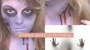 easy zombie makeup tutorial for without latex catsiegoesmeow