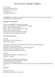 Resume Truck Driver Position Truck Driver Employment Application Template Trucking Resume For