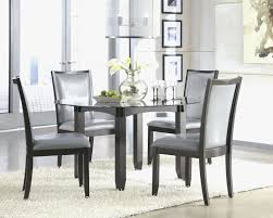 glass top kitchen table with chairs best modern glass dining table set luxury modern round dining