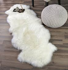 large sheepskin rug