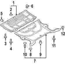 Rear shield
