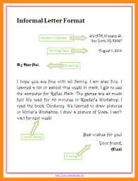 Sample Informal Letter Format 100 Informal Letter Writing Format Musicre Sumed regarding Sample 2