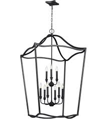 feiss f2977 9af yarmouth 26 inch antique forged iron chandelier ceiling light