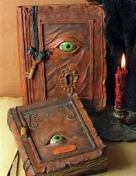 straight from the restricted section of hogwart s library evil eye spell books these remind me of the book in hocus pocus mais