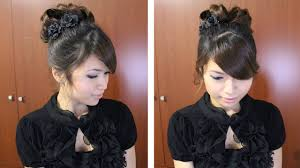 Pin Curl Hair Style classic prom hairstyle updo pin curly hair tutorial youtube 3689 by stevesalt.us