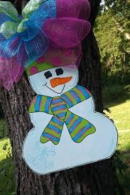 winter door hanger best just for teachers images on teacher snowman kirklands fabric snowman door hanger