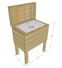 pallet building plans. pallet cooler stand building plans