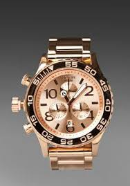 boardco com the nixon camden watch in all rose gold timepieces spring 2011 nixon watch nixon chrono rose gold