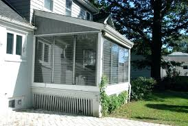 how to enclose a patio how to enclose a patio with screen in deck screening porch