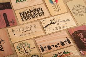 wooden business cards amazing business card designs bizzy bizzy an