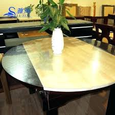 round table pad protector soft glass table cloth round transpa pad waterproof disposable dining cover protector round table pad protector