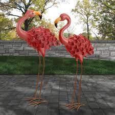 yard garden outdoor living flamingo