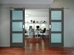 commercial office barn doors contemporary sliding door bathroom 4 modern home commercial office barn doors