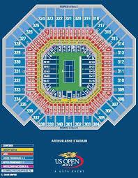 Arthur Ashe Stadium Seating Chart Lower Promenade Us Open Tennis Tournament Guide Buying Tickets Best Seats