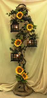 Sunflower Decoration For Kitchen Vintage Sunflower Dinnerware Place Settings For 12 Sunflowers