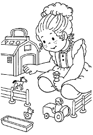 Kids Playing Coloring Pages - HiColoringPages - Coloring Home