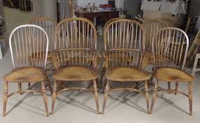 set windsor chairs classic english farmhouse kitchen chair set 8