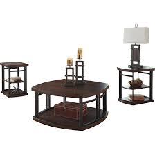 Three Piece Living Room Table Set Brayden Studio Dube 3 Piece Coffee Table Set Reviews Wayfair