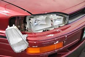 minor car accident. check all passengers are responding after the crash minor car accident