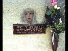 heather o rourke funeral photos. Delighful Rourke El Dia En El Que Muri Heather Ou0027 Rourke For O Funeral Photos
