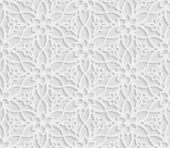 White Pattern Background Interesting Seamless Arabic Geometric Pattern 48D White Background Indian