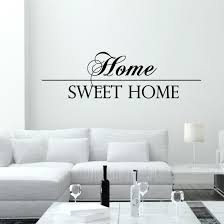 Small Picture Nice Wall Quotes For Modern Living Room With White Furniture