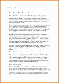 Professional Headline Examples Resume 24 Elegant Photos Of Resume Headline Examples Resume Concept Ideas 16