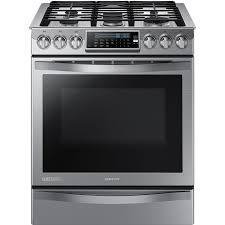 Overstock Kitchen Appliances Samsung Nx58h9950ws Chef Collection 30 Stainless Steel Gas Slide