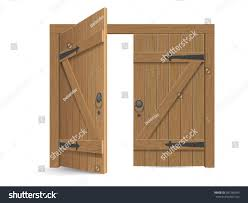 open door clipart. Uncategorized Open Double Door Clipart The Best Old Wooden Massive Opened Gate Stock Vector Pict Of Style And French A