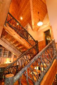 Taos Luxury Mountain Home   Stairs  House Plans And More and    houseplansandmore com photos Taos   Country House Plan Stairs Photo   S