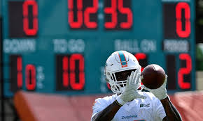 Miami Dolphins Receiver Depth Chart Dolphins Wide Receiver Preston Williams Changes Number