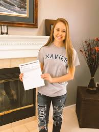 """Alycia Crawford on Twitter: """"Today I got accepted into Xavier's ..."""